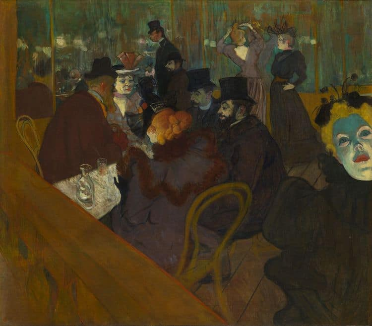 Henri de Toulouse Lautrec Moulin Rouge Painting