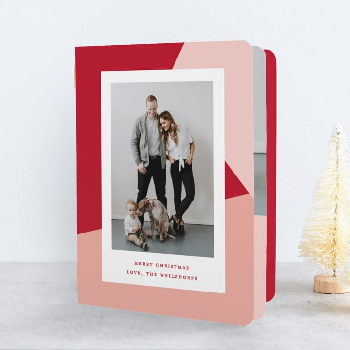 Holiday Photo Booklet Card from Minted