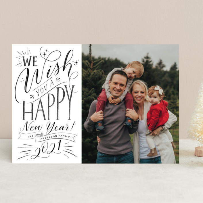 Holiday Card from Minted