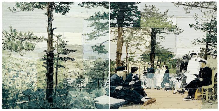 Impasto Paintings by Li Songsong