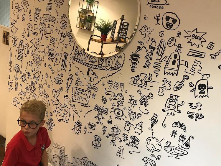 Dibujos para murales por Joe Whale