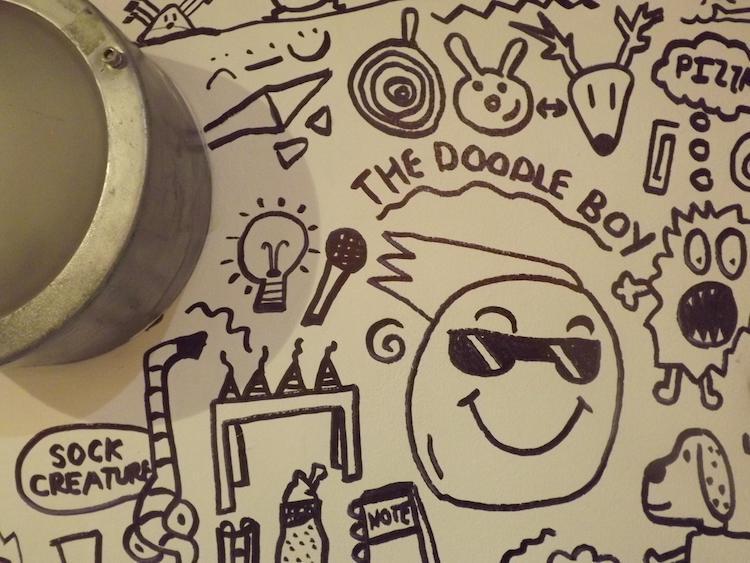 Dibujos para murales por The Doodle Boy