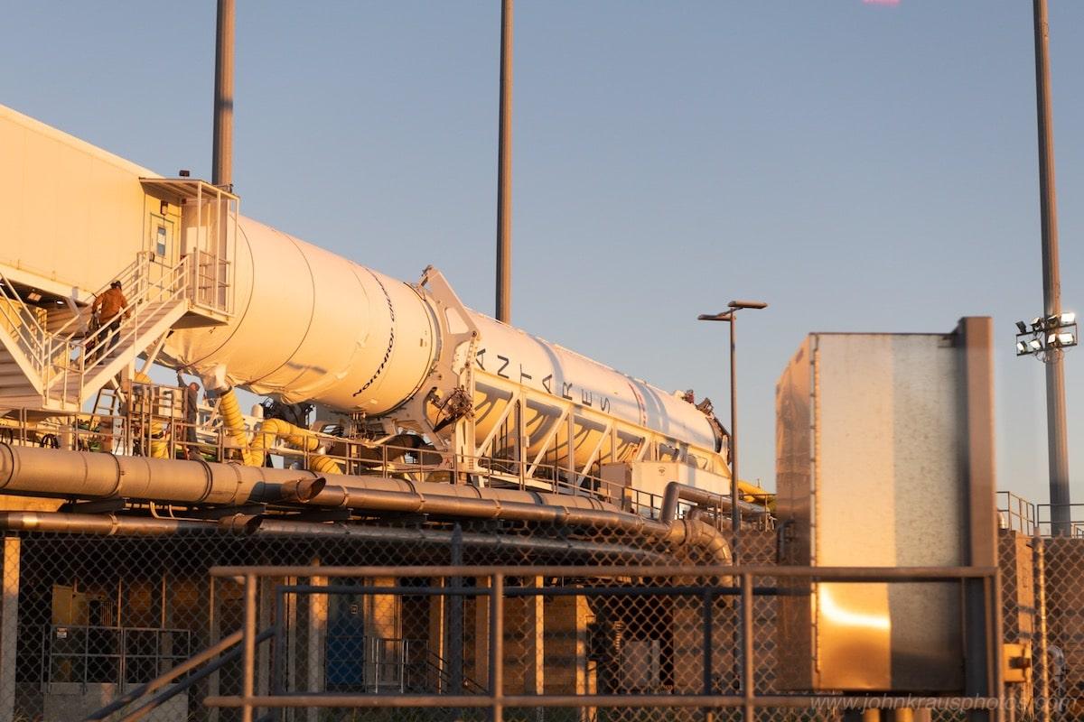 Antares Rocket Pre-Launch