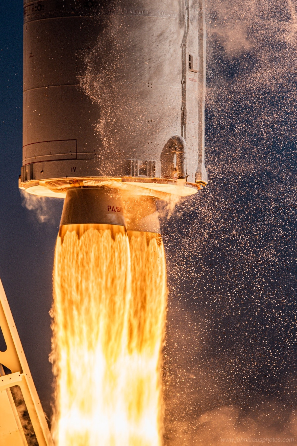 Antares Rocket Launch by John Kraus