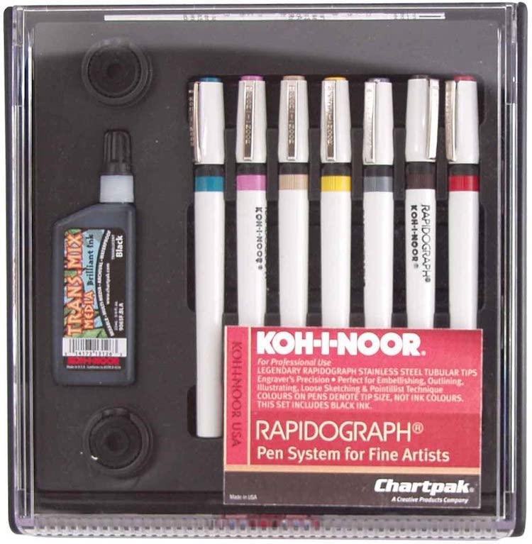 Rapidograph Pen Set