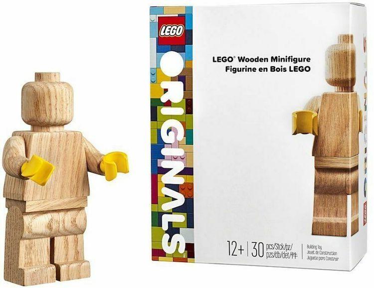 LEGO Wooden Minifigure Design