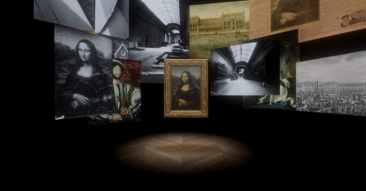 Mona Lisa Virtual Reality Experience