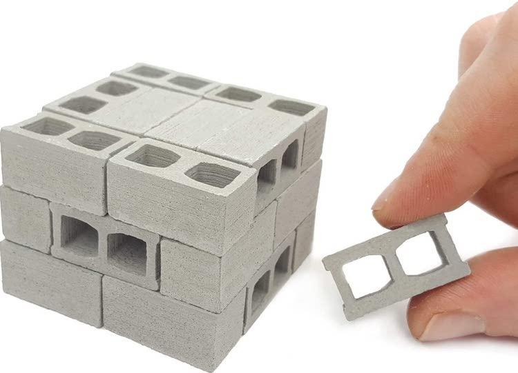 Mini Cinder Blocks Set
