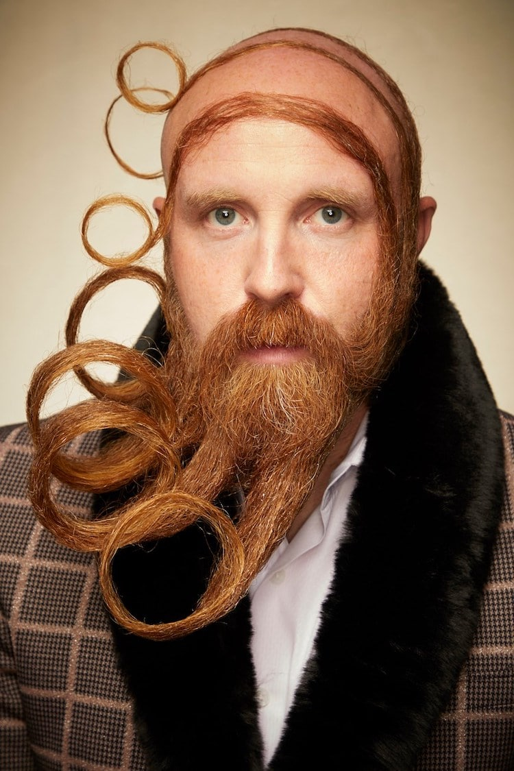 Crazy Beard Styling