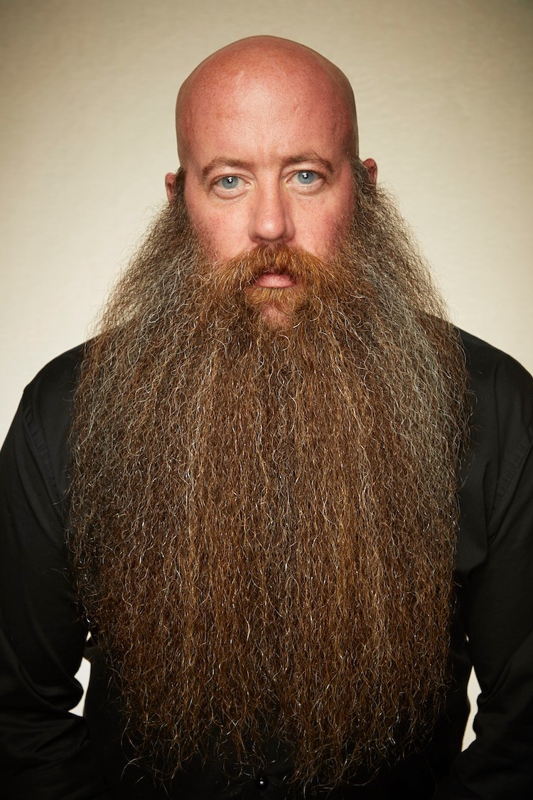 Man with Long Beard