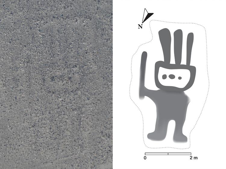 AI Geoglyph at Nazca Lines