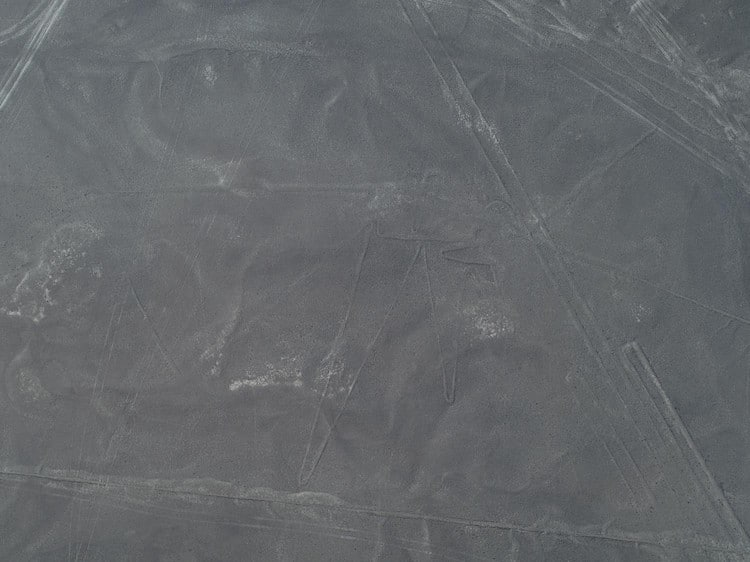 Unprocessed Photo of Geoglyph in Peru