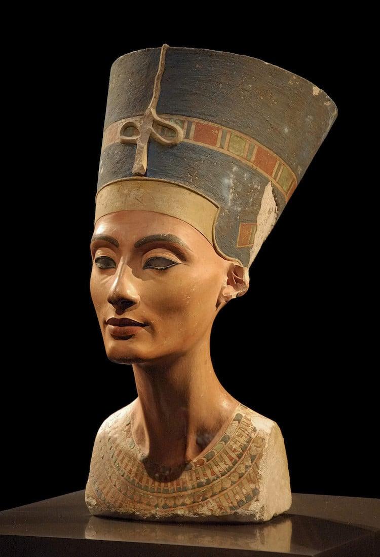 10 Datos Sobre Nefertiti La Gran Reina Del Antiguo Egipto