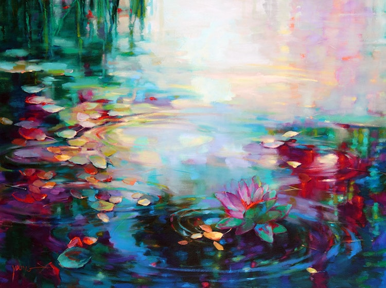 Oil Paintings of Water by Donna Young