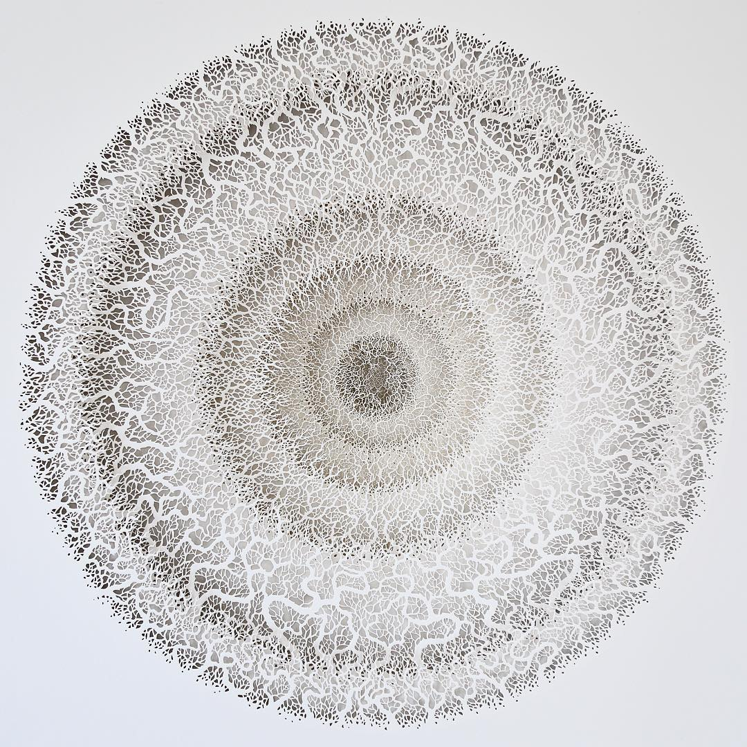 Paper Sculptures by Rogan Brown