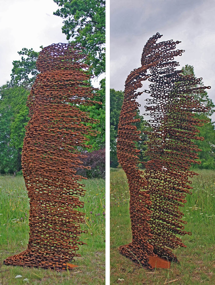 Penny Hardy Blown Away Sculpture