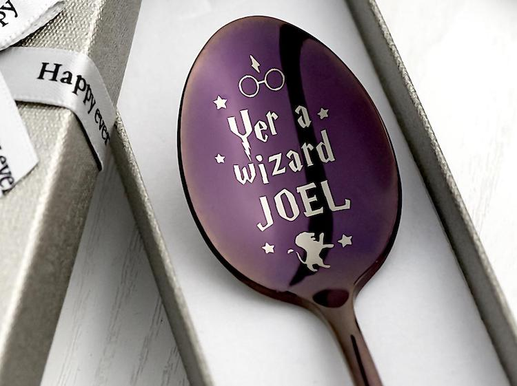 Custom Harry Potter Spoon