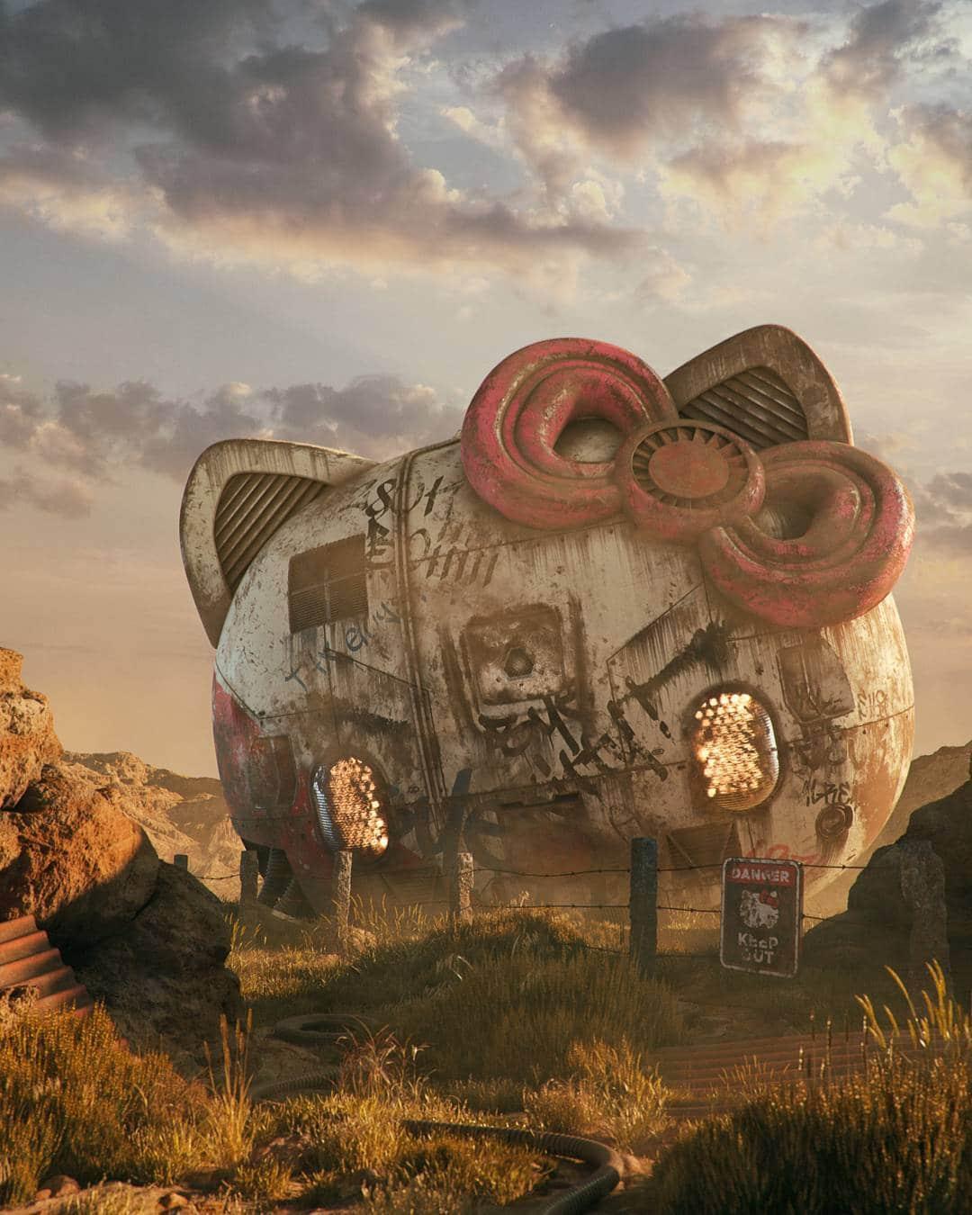 arte digital futuro distopico
