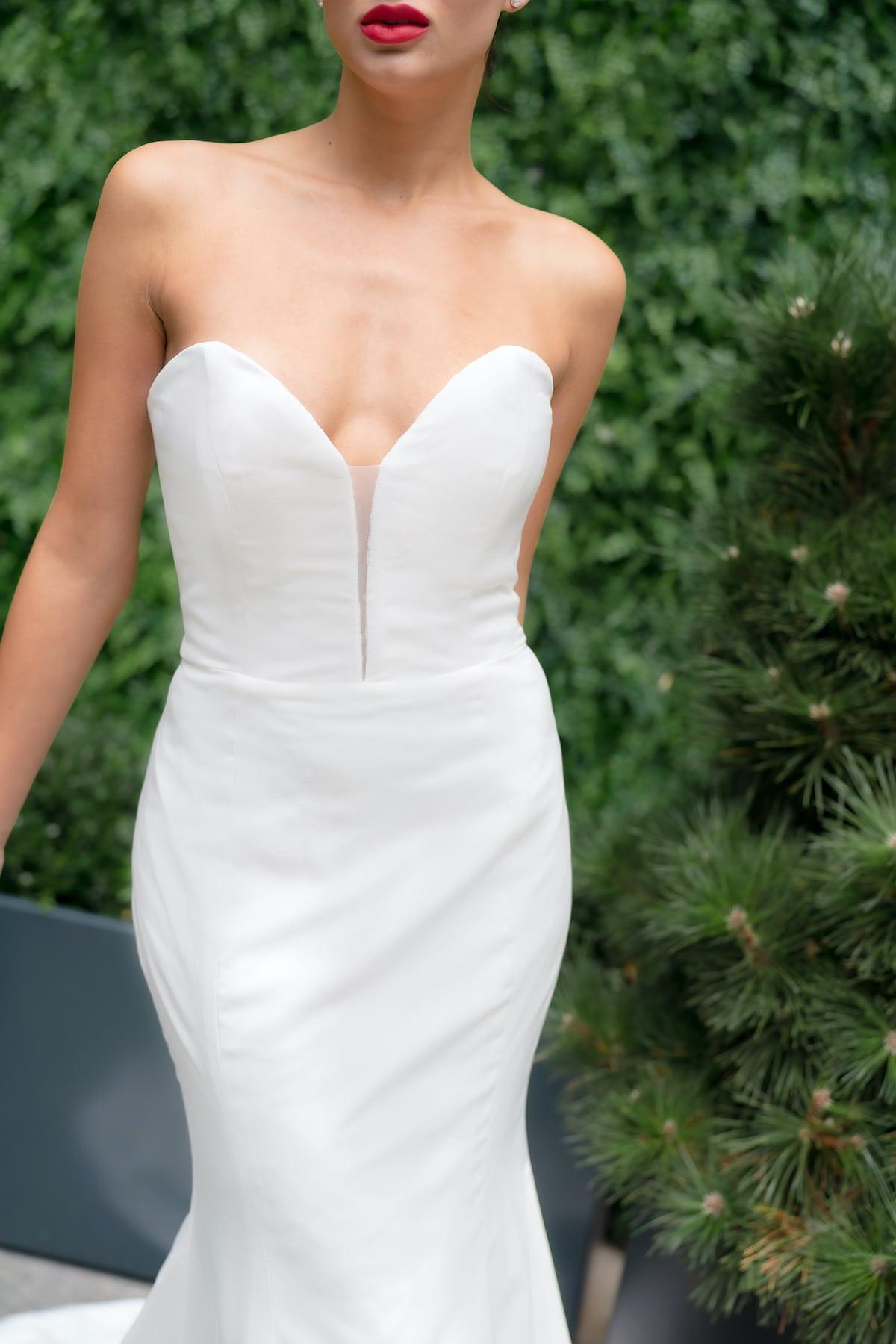 Reversible Wedding Dress by Trish Peng