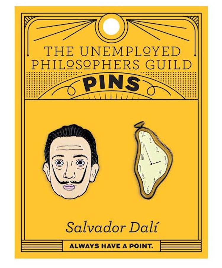 Salvador Dali Enamel Pin Set