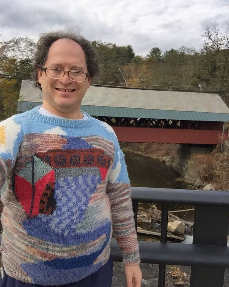 Hand Knit Sweater by Sam Barsky