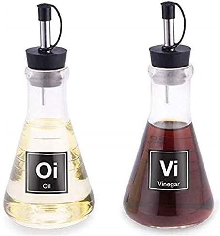 Science Flask Oil and Vinegar