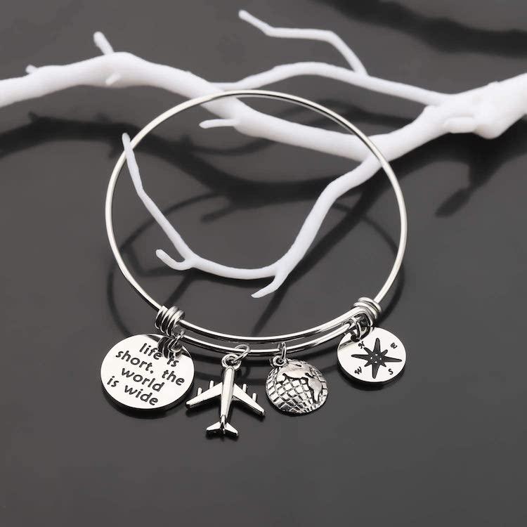 Silver Wanderlust Bracelet