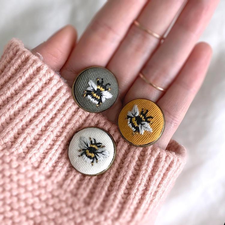 Bee Lapel Pins