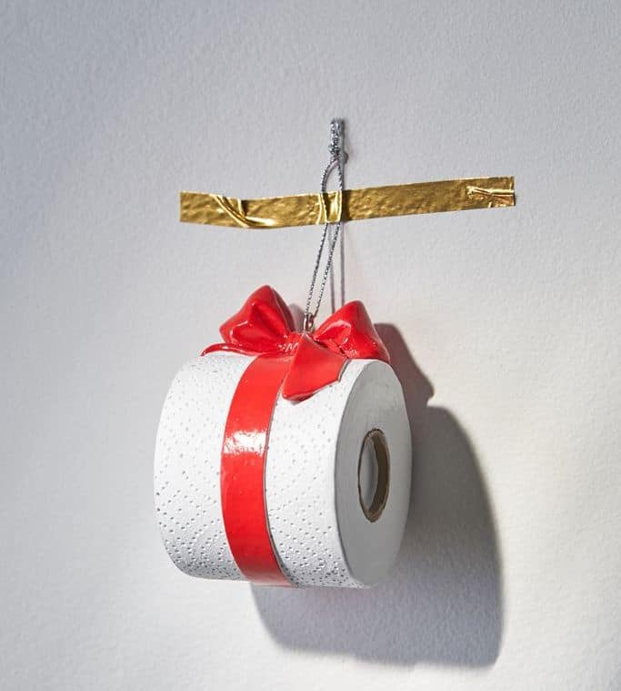 Toilet Paper Gift Ornament
