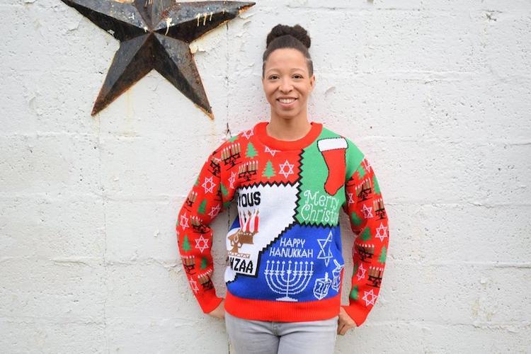 Ugly Sweater sueter feo de navidad