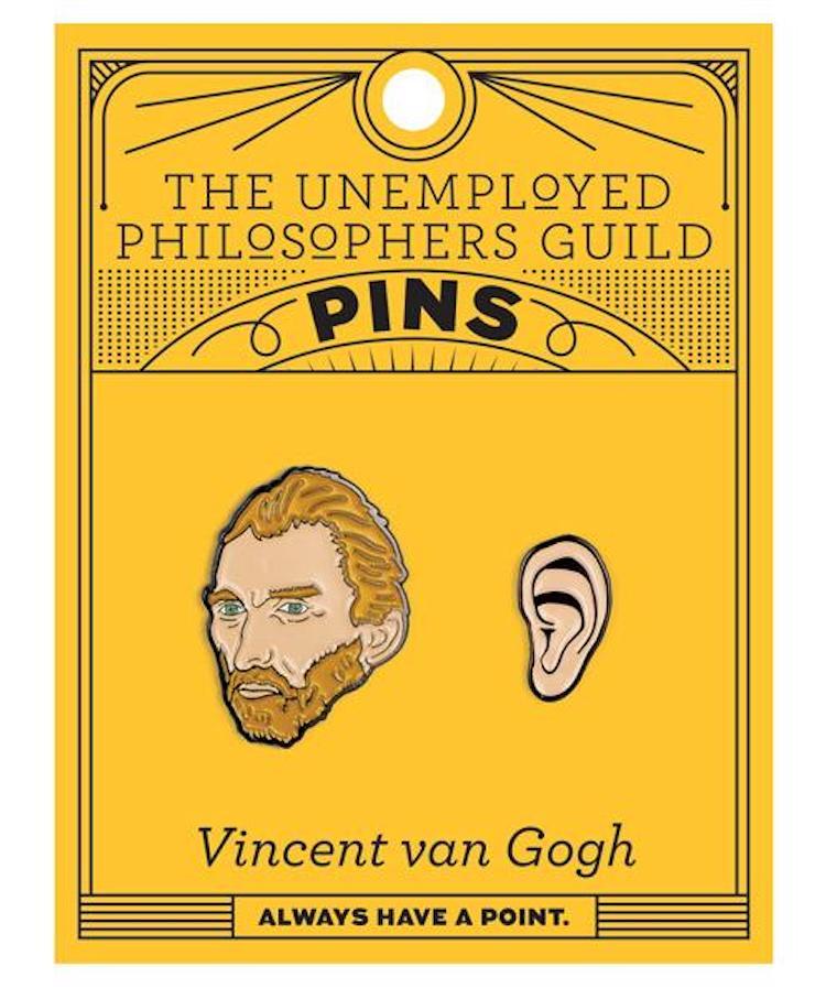 Van Gogh Enamel Pin Set