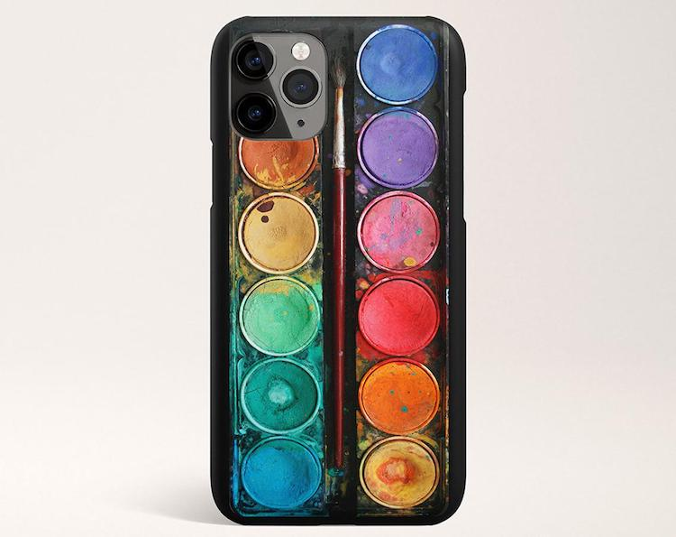 Watercolor Set iPhone Cases