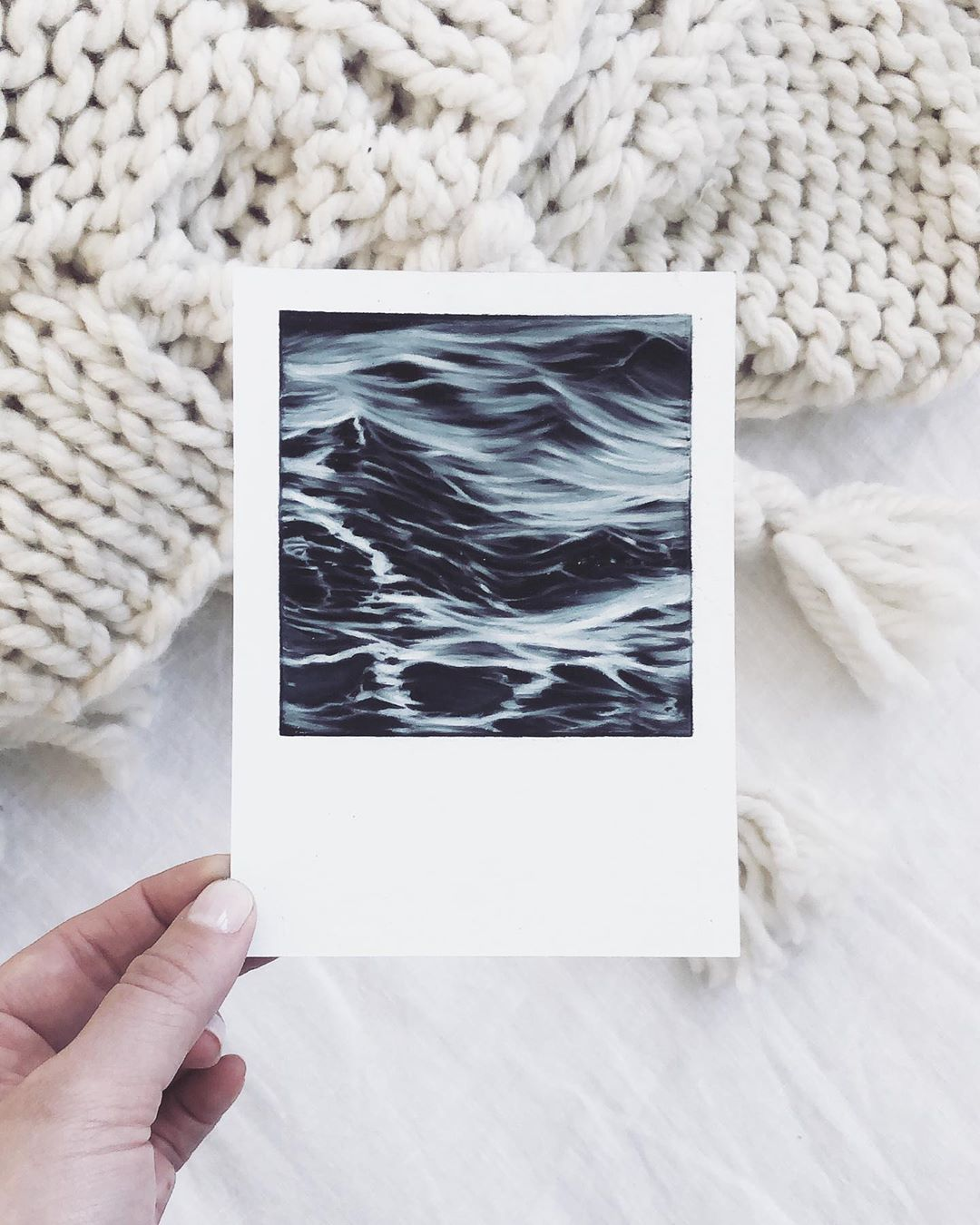 Ocean Pencil Drawings by Bethany Moffat