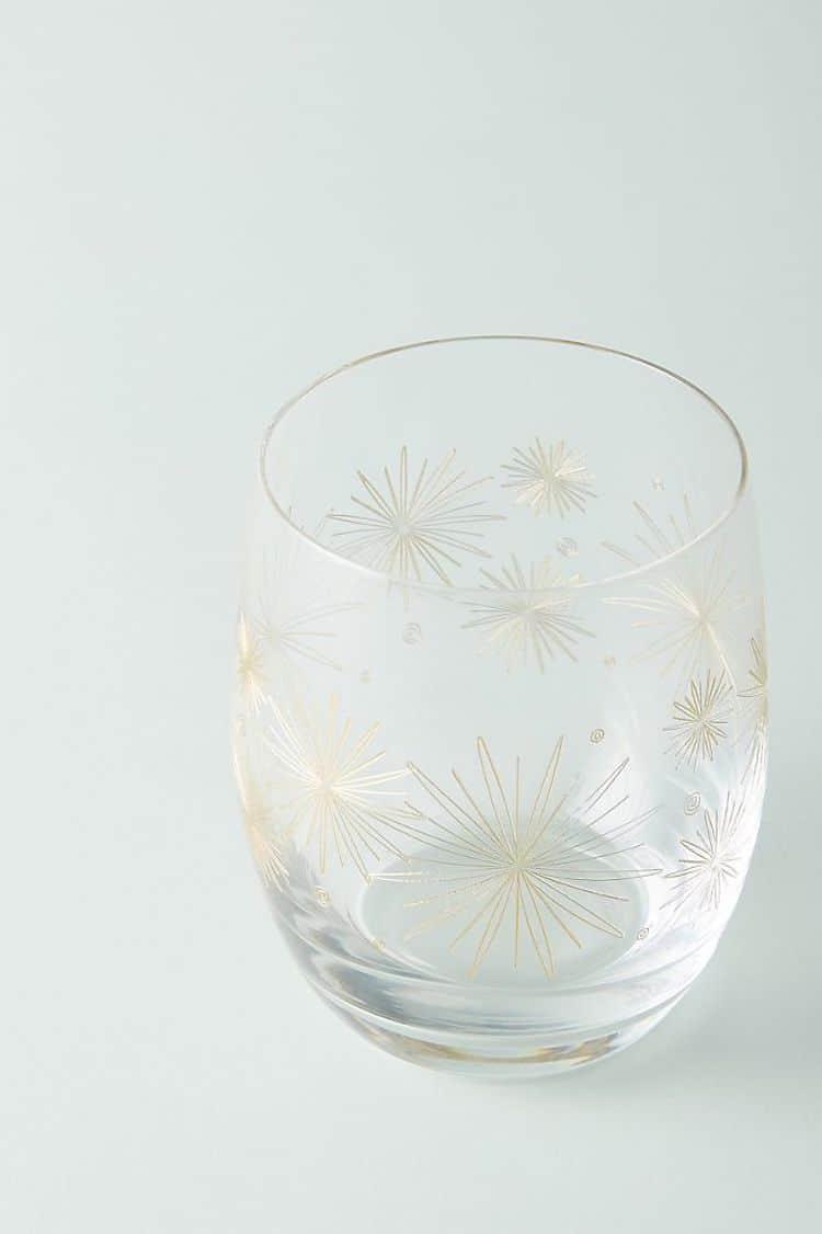 Stemless Wine Glasses (Set of 4)