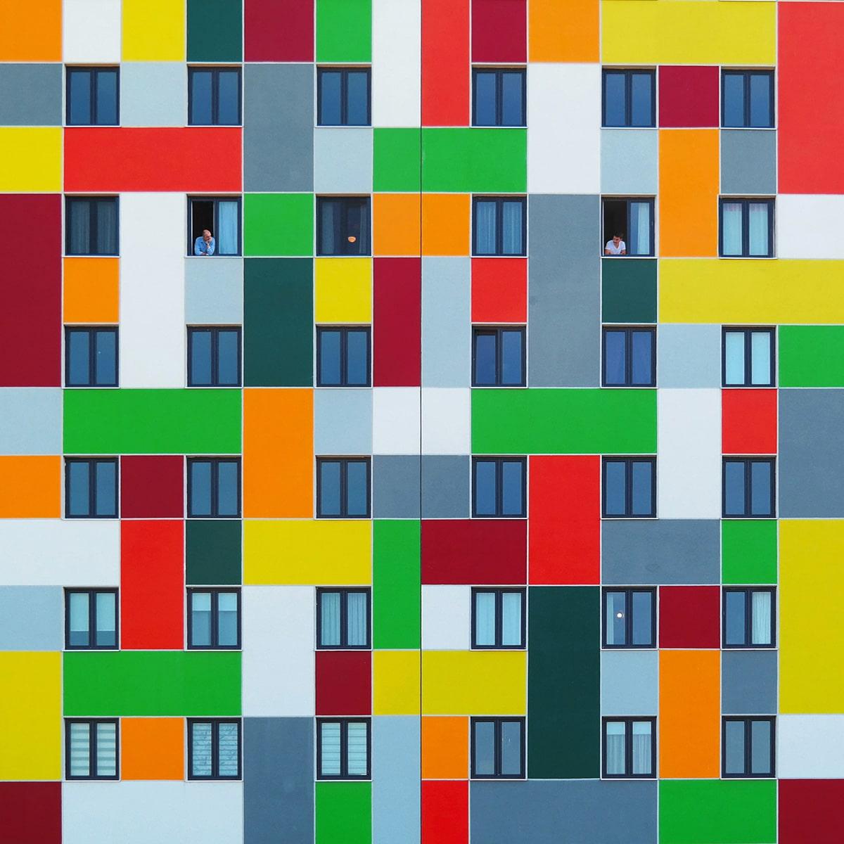Yener Torun arquitectura de colores