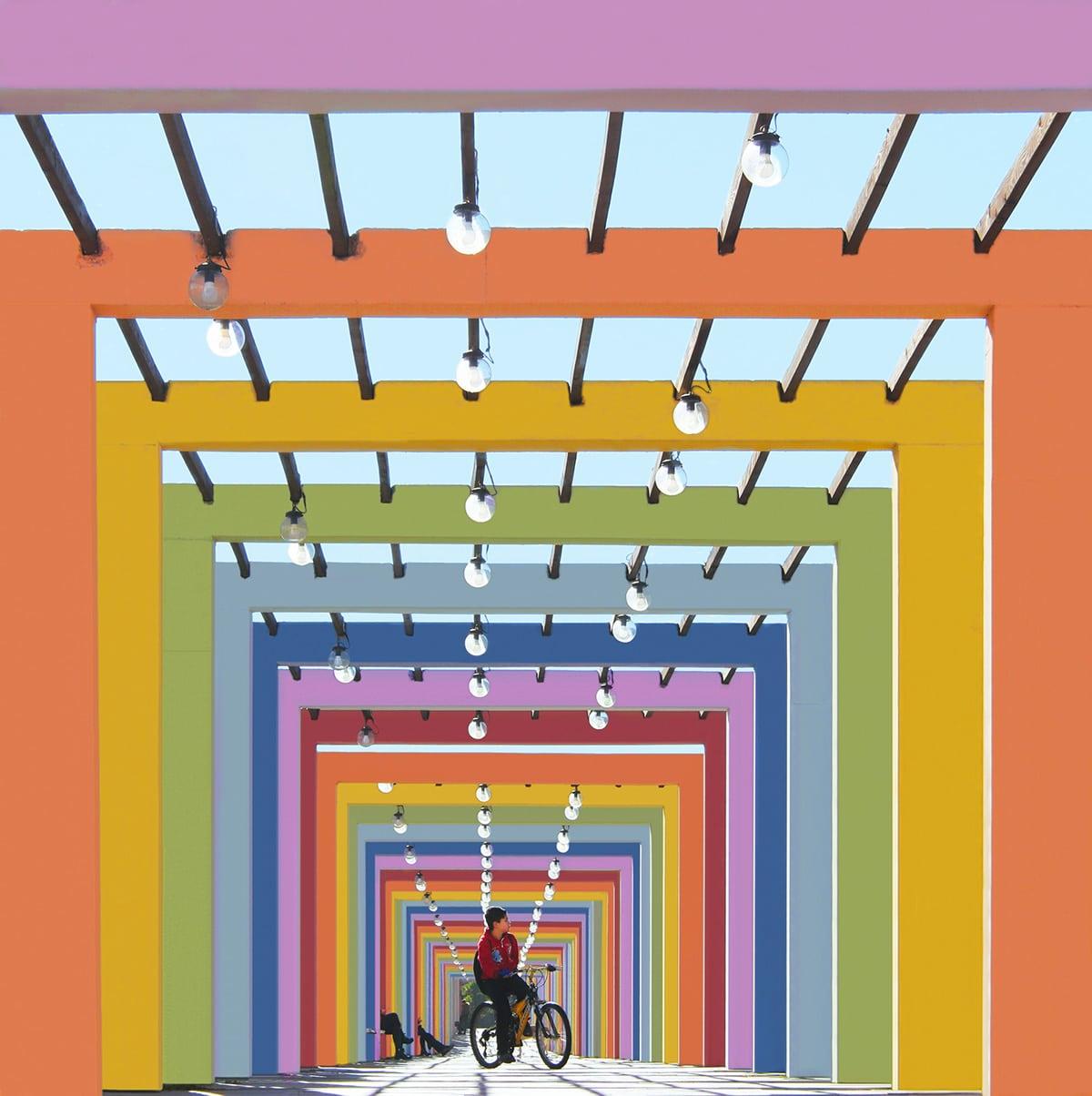 Rainbow Archway