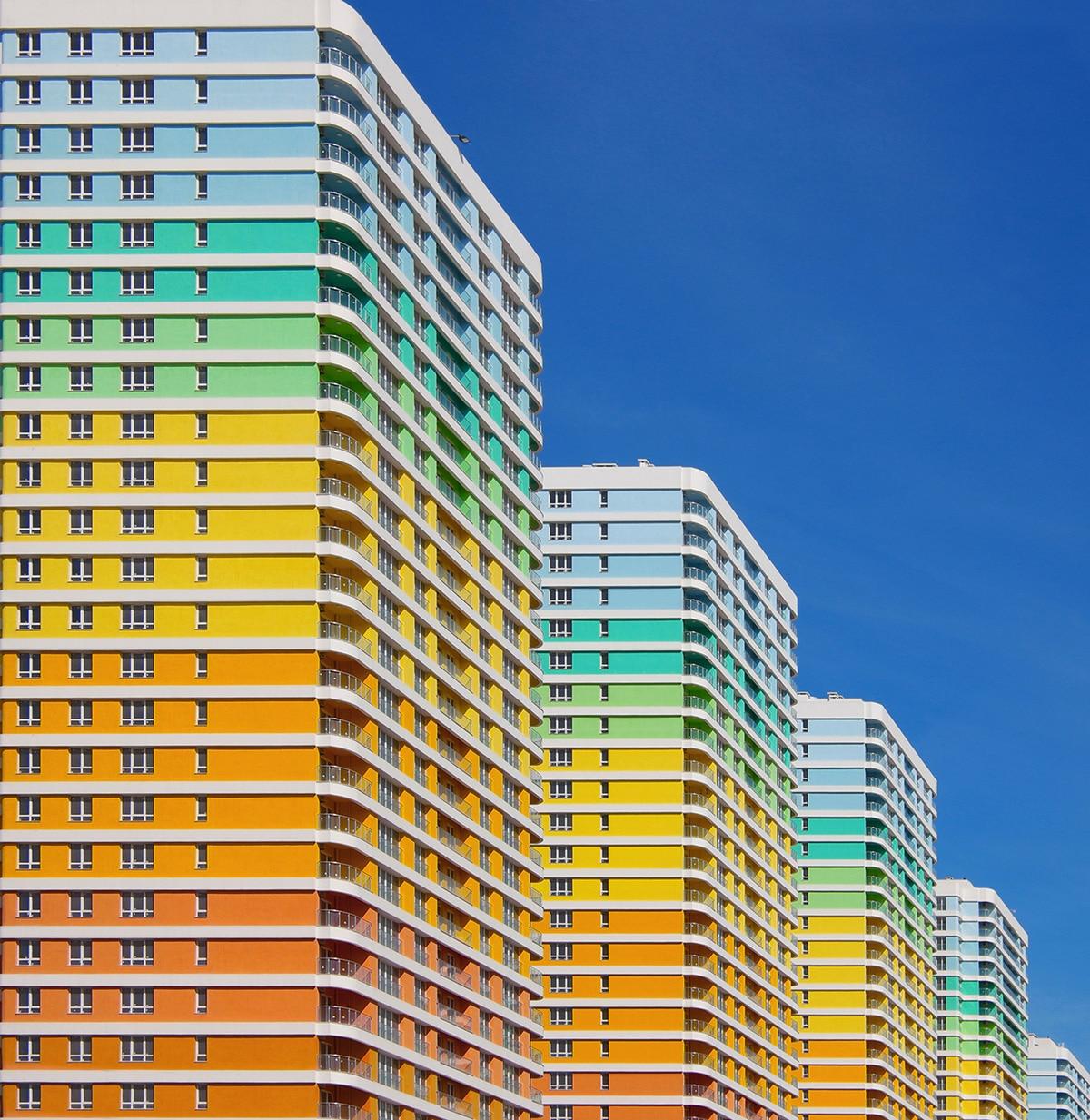 Yener Torun Rainbow Cityscapes