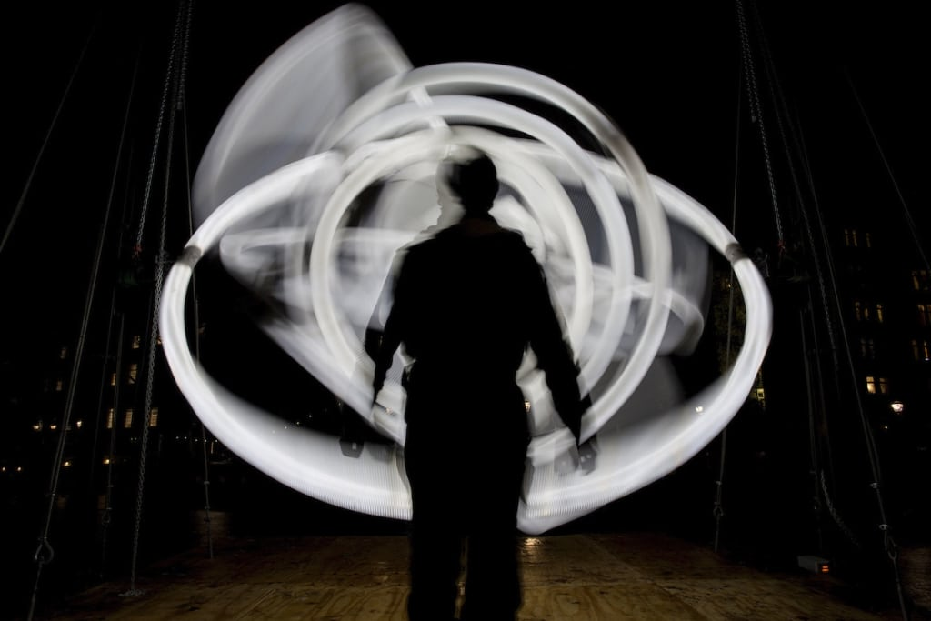 Kinetic Light Art