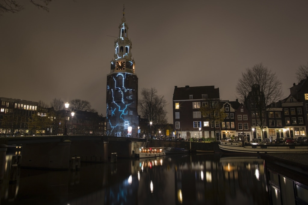 Light Art in Amsterdam