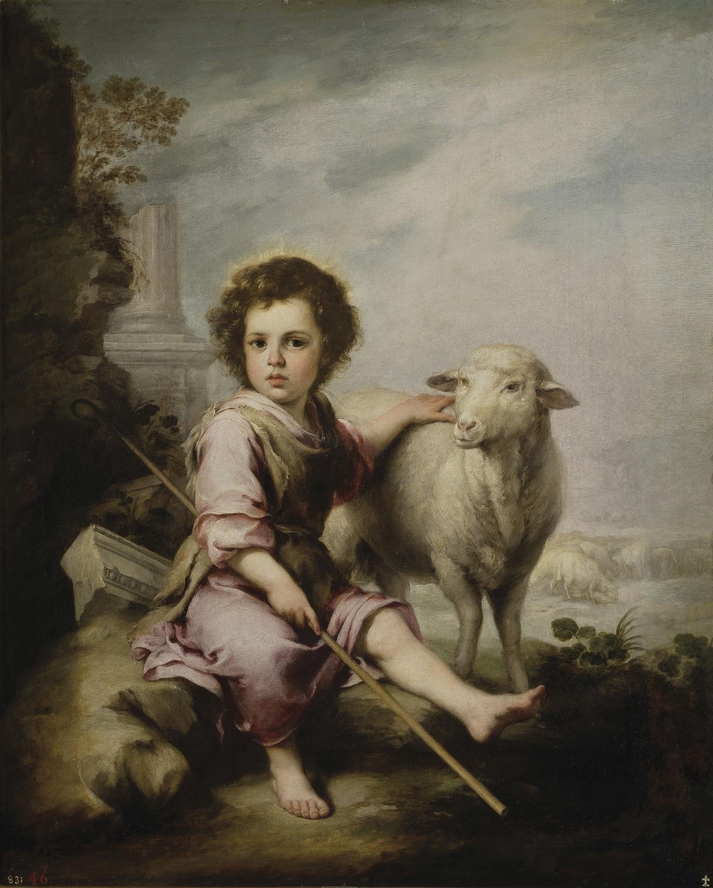 El buen pastor de Bartolomé Esteban Murillo