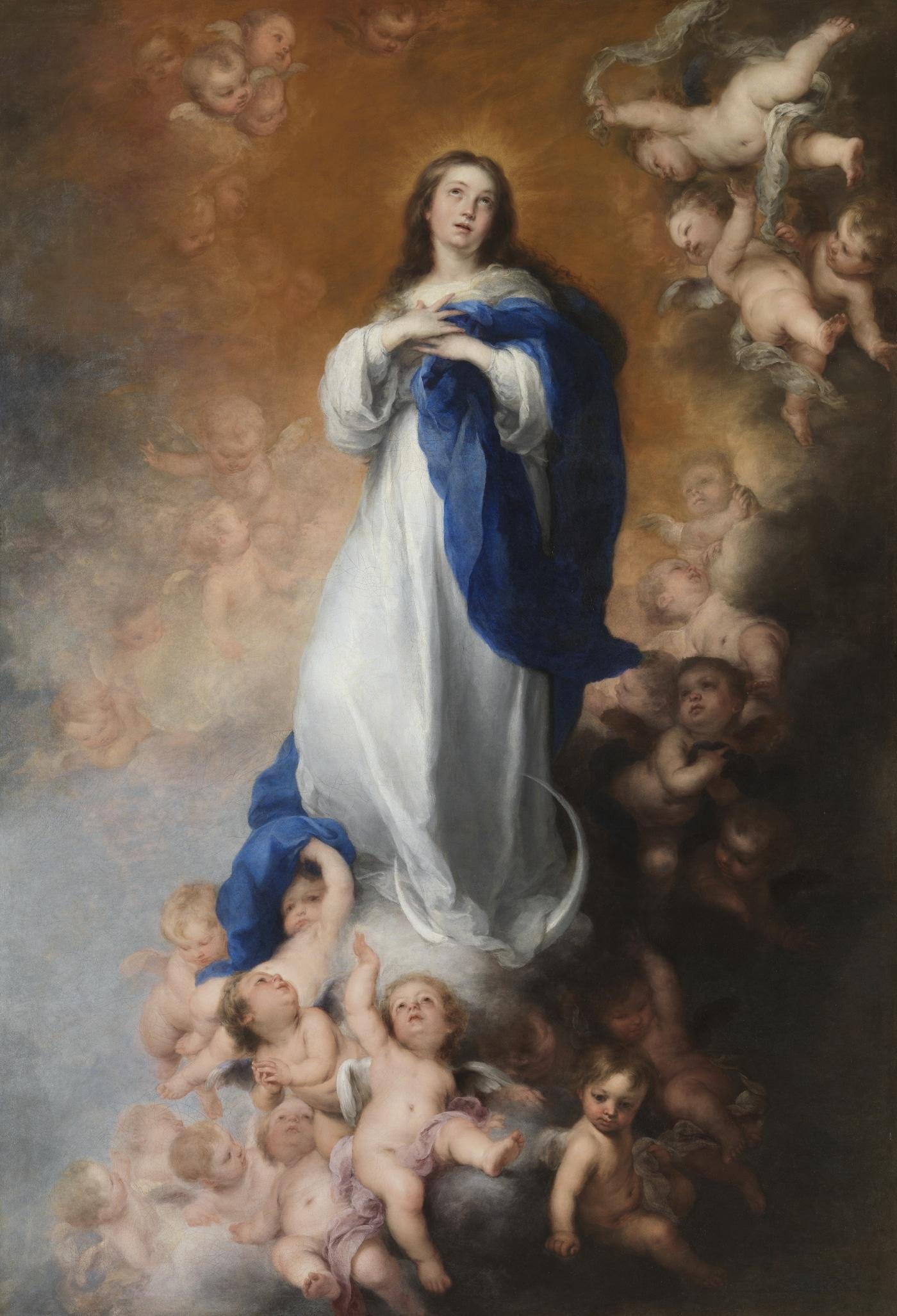 Inmaculada de Soult de Bartolomé Esteban Murillo
