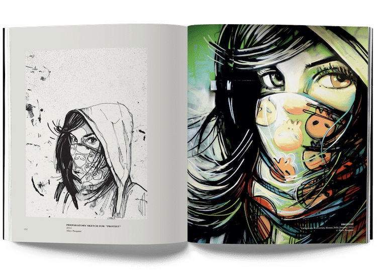 Book About Street Artist Alice Pasquini