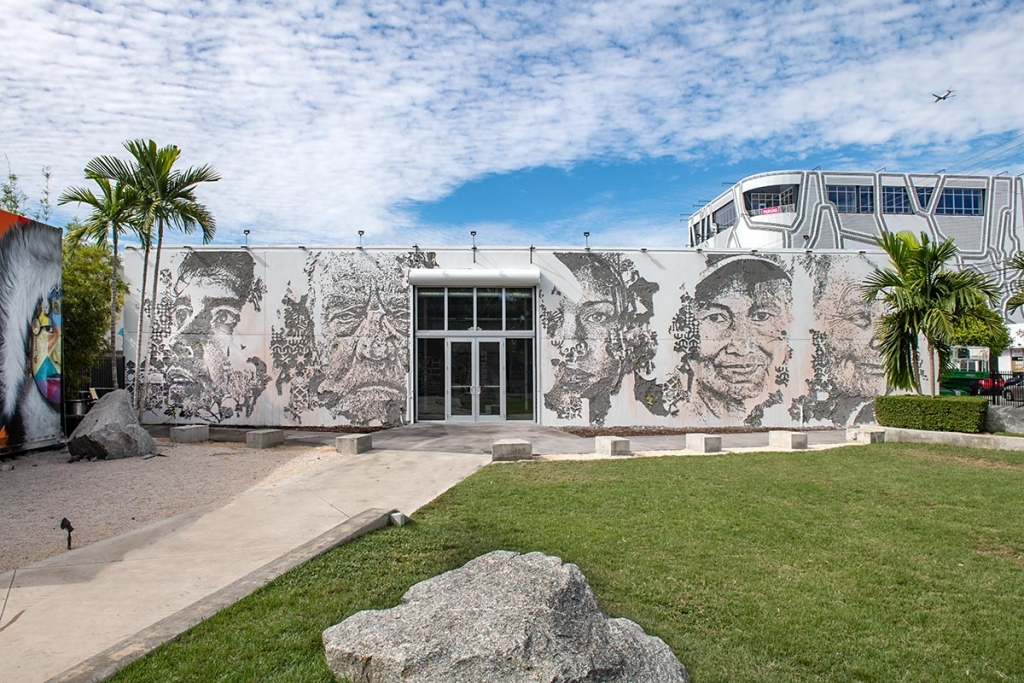 Vhils at Wynwood Walls