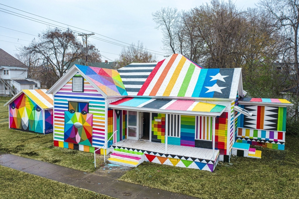 The Rainbow Embassy by Okuda