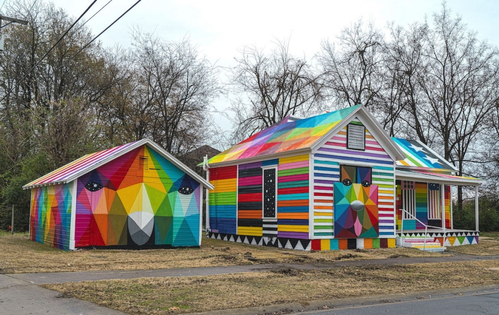 Okuda San Miguel for Unexpected Festival