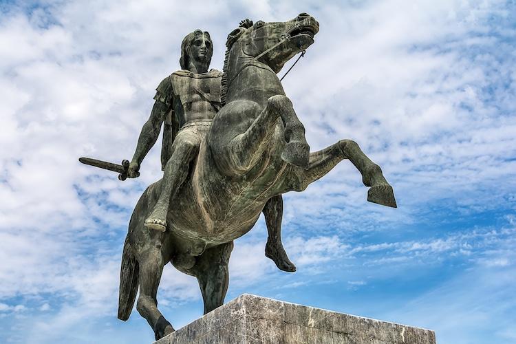 Estatu de Alejandro Magno