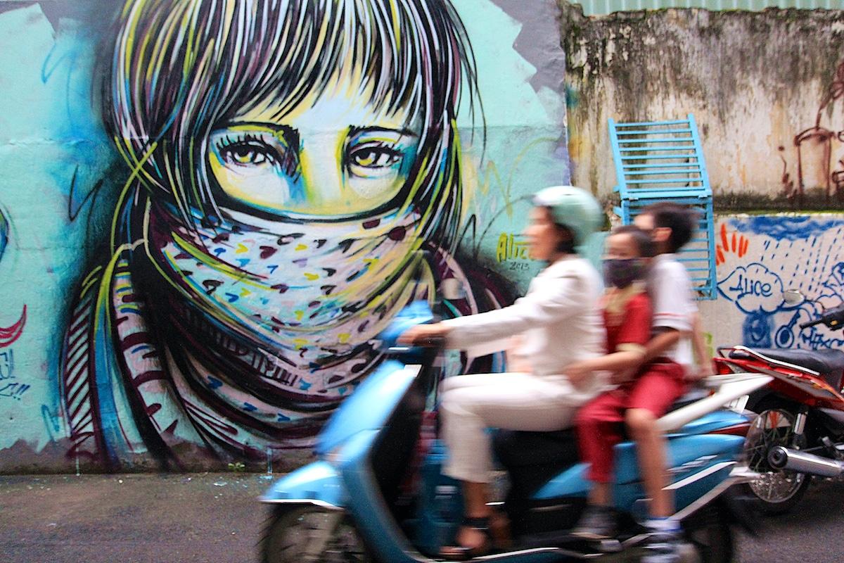 Street Art by Alice Pasquini