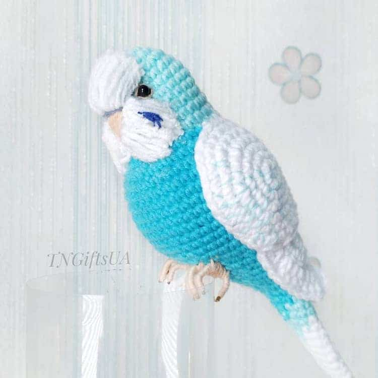 Crochet Bird Sculpture
