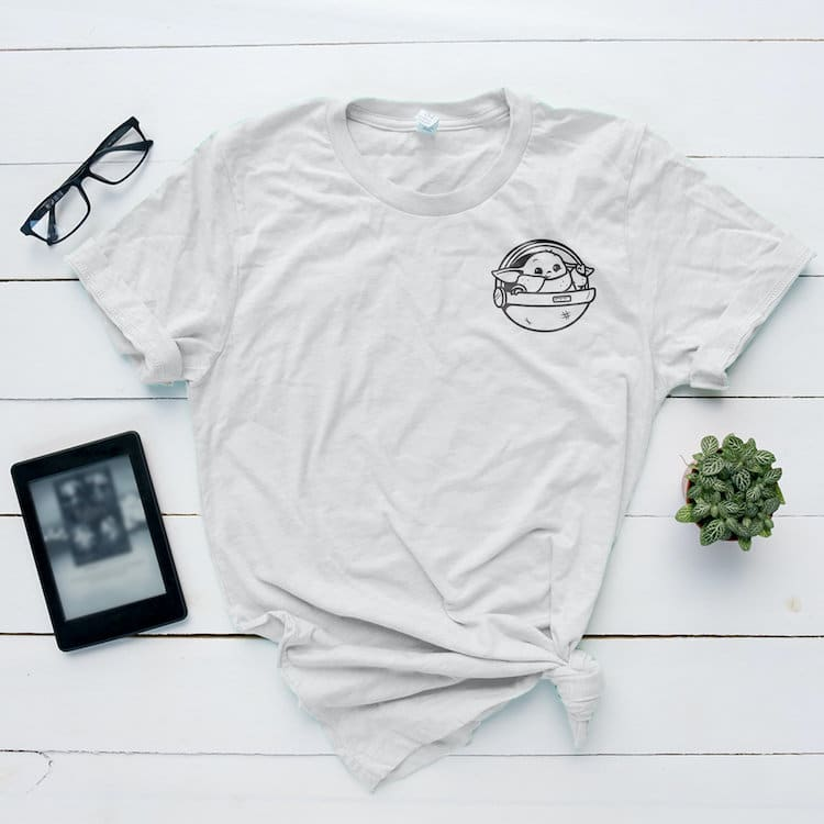 Baby Yoda camiseta