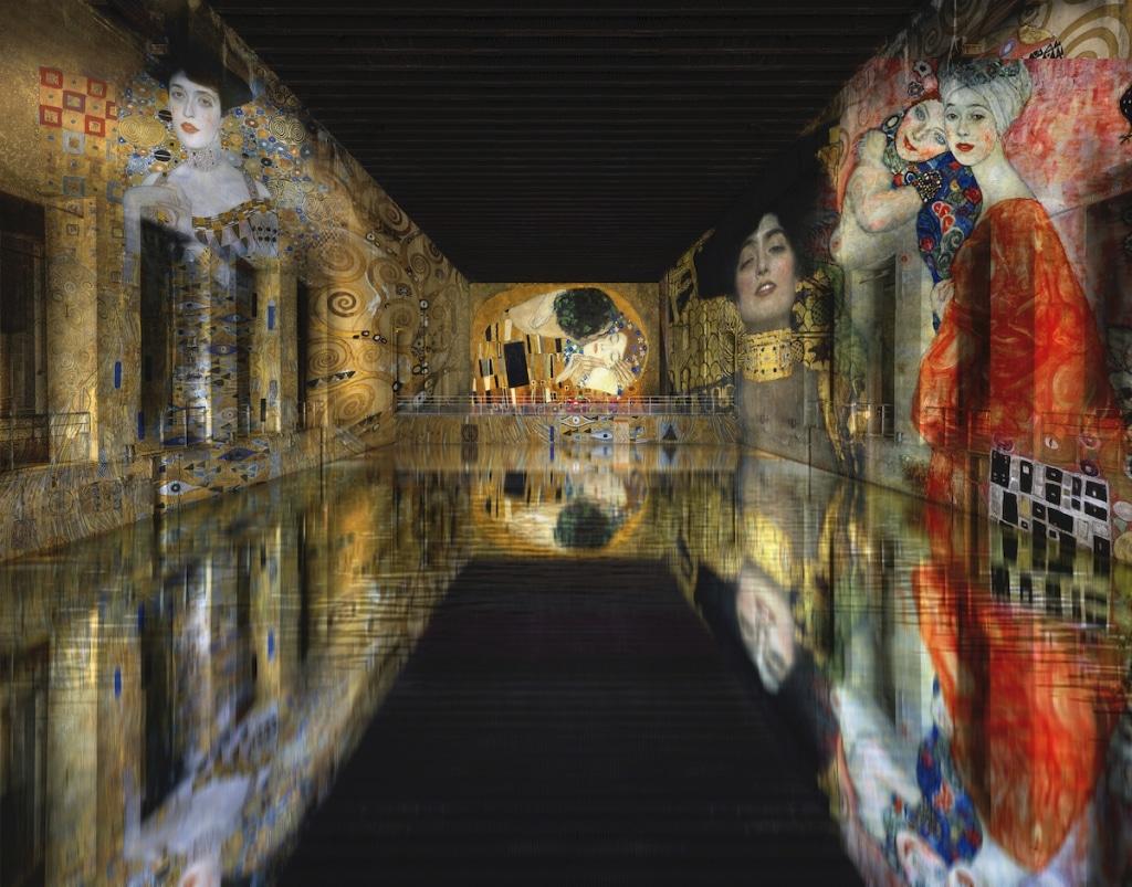 Bassins de Lumieres - Klimt Rendering